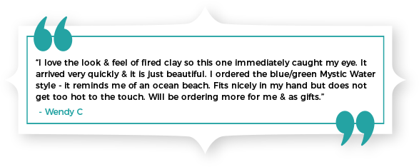 SOME WORDS FROM THE CLAY IN MOTION CUSTOMERS