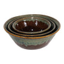 Handmade Ceramic Nesting Bowl Set