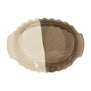 Small Oval Shaped Handmade Ceramic Baker