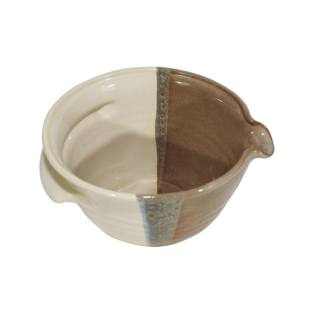 Handmade Ceramic Batter Bowl Large-4