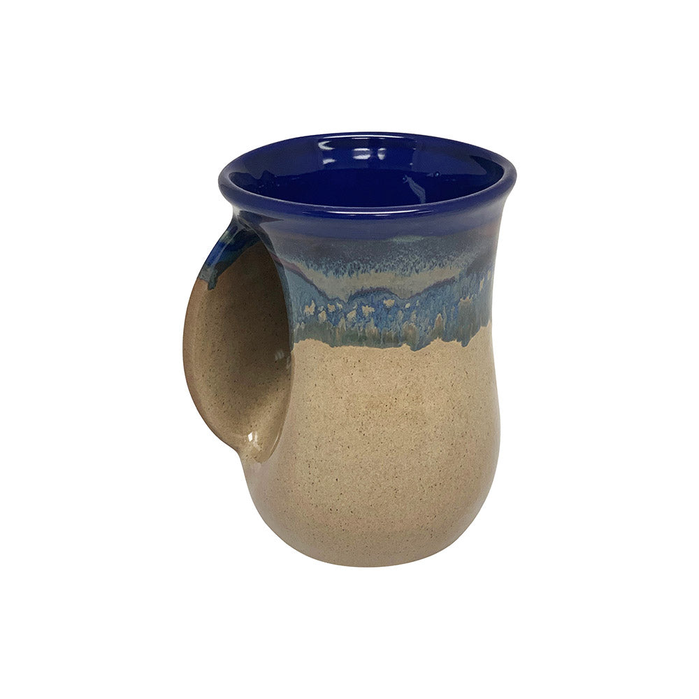 Handwarmer Tea/coffee Ceramic Mug - Left Hand-6