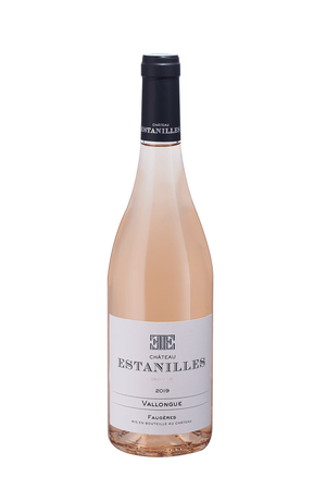 Chateau Estanilles, Vallongue Rosé, achat, buy,   AOP Faugères, grand vin, Languedoc, vin bio, biodynamie, boutique, officielle