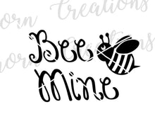 Load image into Gallery viewer, Bee Mine- Valentine's Day SVG