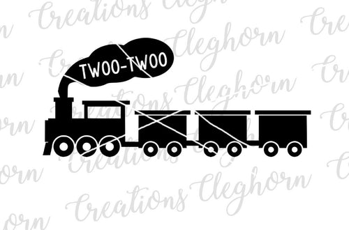 twoo twoo train, second birthday svg, birthday train svg