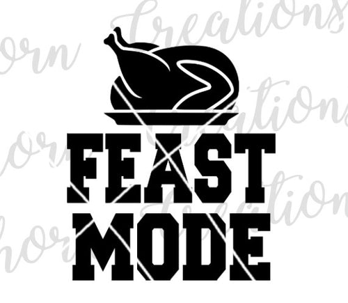 feast mode baby onesie, feast mode toddler shirt, newborn baby file, funny baby onesie svg, feast mode svg