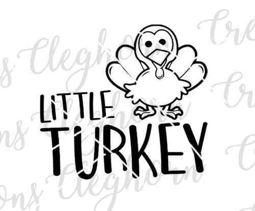 funny baby onesie, little turkey baby onesie, thanksgiving baby onesie, thanksgiving shirt for toddler svg