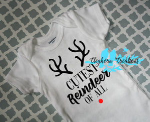 Christmas SVG - Cutest Reindeer Of All