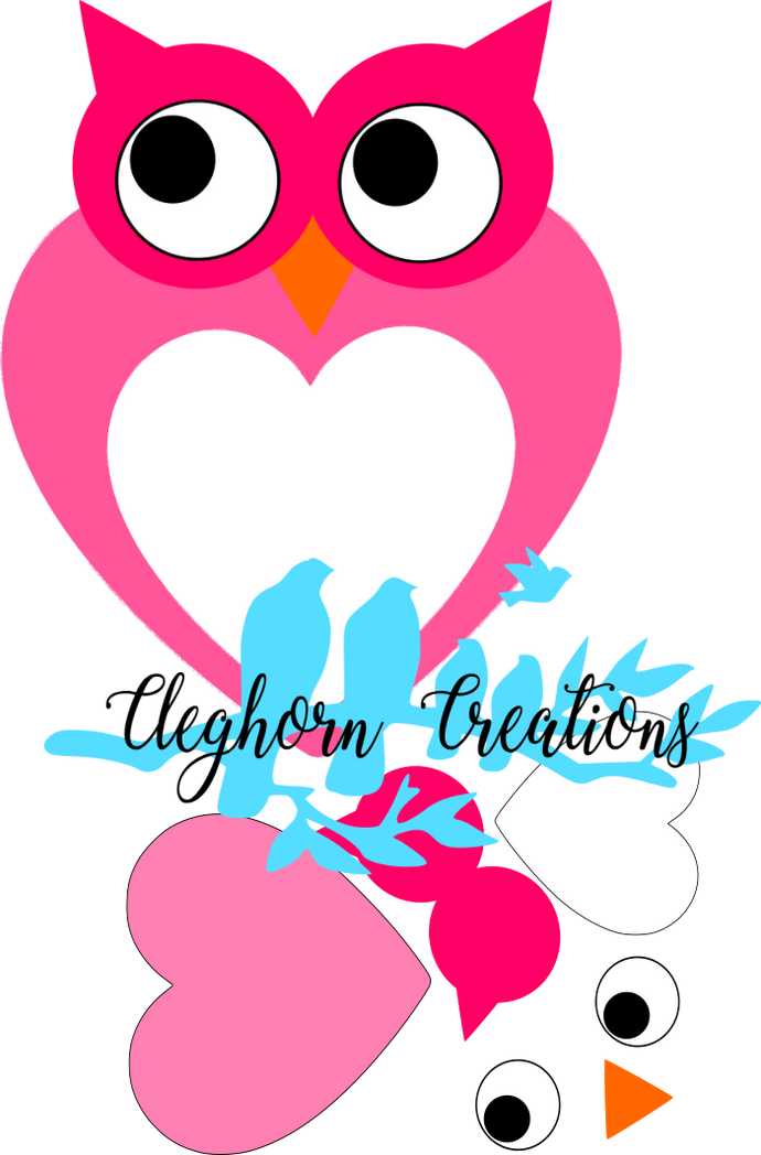 Cut & Glue Valentine's Day Owl - FREE Printable