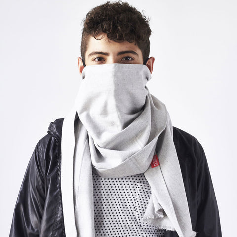 Scough Germ And Pollution Filtering Scarf With Activated