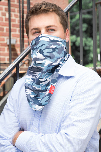 Denim Camo Bandana