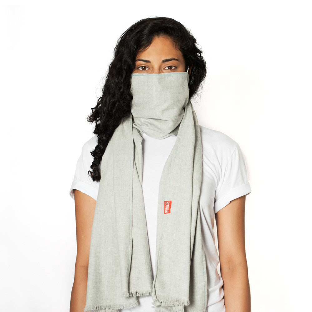 JASPER SCOUGH - Solid Grey Flannel Scarf