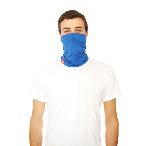 RYLEN SCOUGH - Blue Bamboo Neck Warmer Scarf