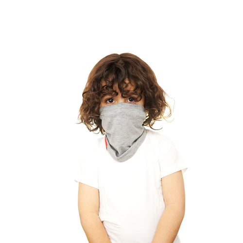 RYLEN KIDS SCOUGH - Grey Bamboo Neck Warmer Scarf