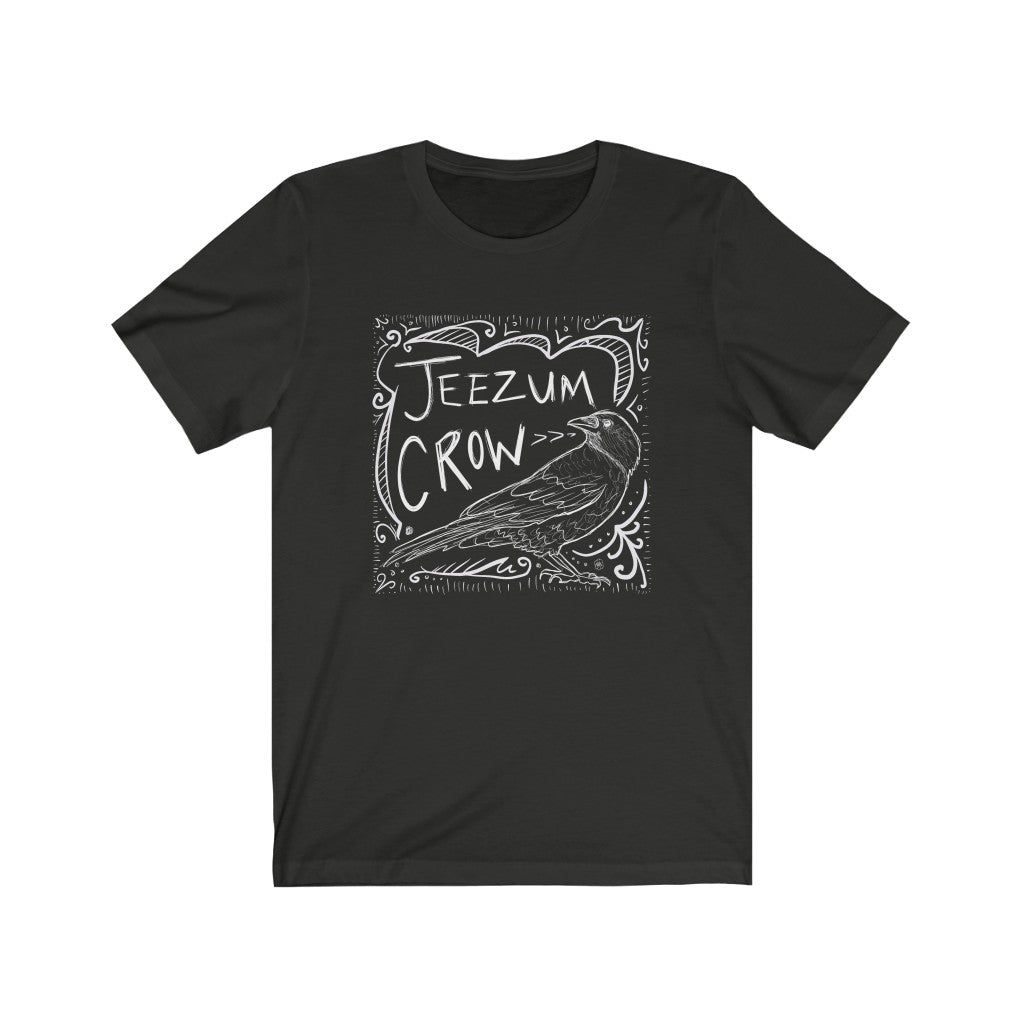 Jeezum Crow - Unisex Jersey Short Sleeve Tee - Plants and Pots Shop