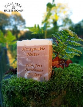 Palm oil free soap - Honeysuckle