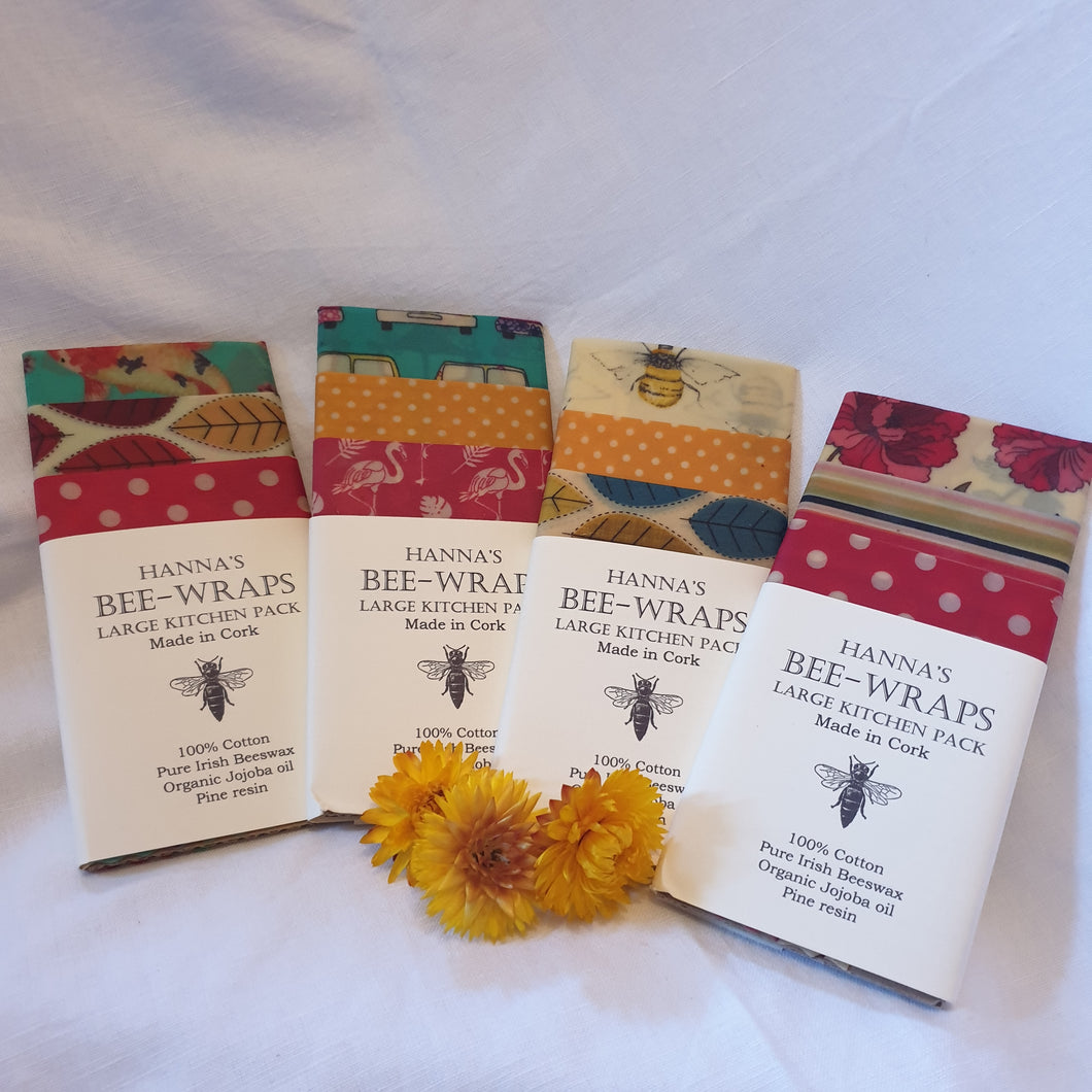 Beeswax wraps - use me instead of cling film!