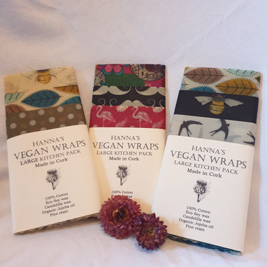 Vegan food wraps - use me instead of cling film!