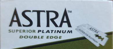 Astra Double Edge razor blades - 5 pack