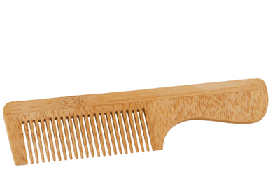 Bamboo Wooden Comb with Handle