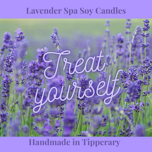 Lavender Spa Hand Poured Soy Candle