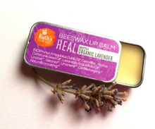 Load image into Gallery viewer, Ruth's Palm Free Beeswax Lip Balm in 5 delicious flavours