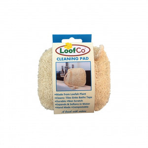 Plastic free cleaning pad