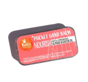 Vegan Pocket Hand Balm in Three Delicious Scents