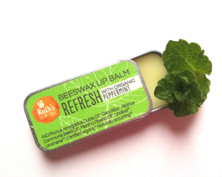 Ruth's Palm Free Beeswax Lip Balm in 5 delicious flavours