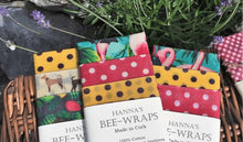 Load image into Gallery viewer, Beeswax wraps - use me instead of cling film!
