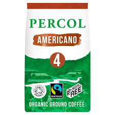 Rich Americano - 100% Fairtrade, Organic & Plastic Free Ground Coffee