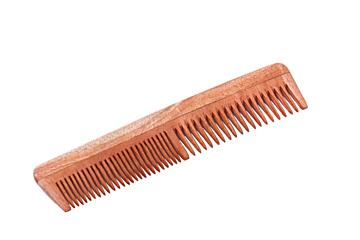 Handmade wooden comb - made from neem wood.