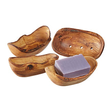 Load image into Gallery viewer, Olive Wood Soap Dish