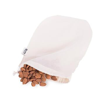 Cotton bag for making plant based milk