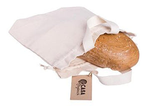 Organic Cotton Reusable Bread Bag