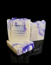 Load image into Gallery viewer, Palm oil free soap - Lavender Cream