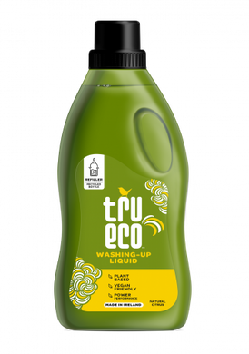 Tru Eco Washing Up Liquid, Natural Citrus - 100ml