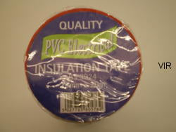 PVC ELECTRICAL INSULATION TAPE 19MMX20M RED