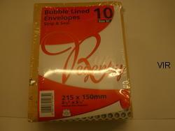 BUBBLE LINED ENVELOPES STRIP & SEAL 3C
