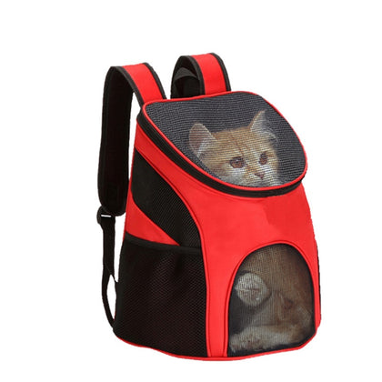 Pet Bag Carrier Backpack Dog Cat Outdoor Travel Carrier Packbag