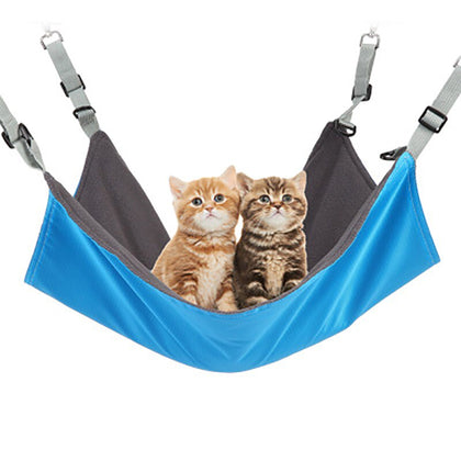 Cat Hammock Bed Double-sided Kitten Mat Removable Kitty Bed Cushion