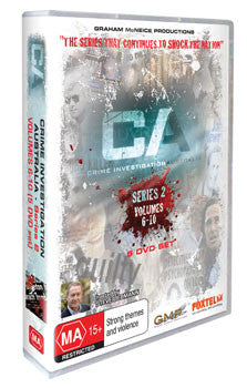 Crime Investigation Australia - Series 2. *OUT OF STOCK*