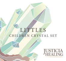 Load image into Gallery viewer, Children Crystal Set by Justicia