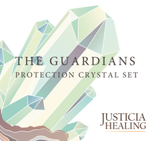 Load image into Gallery viewer, Protection Crystal Set by Justicia