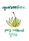 Quarantine Succs Succulent Single Card