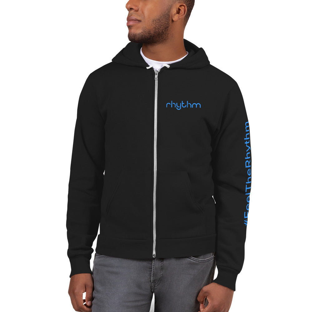 Man with Blue Rhythm hoodie