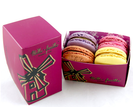 Box of 4 French Macarons