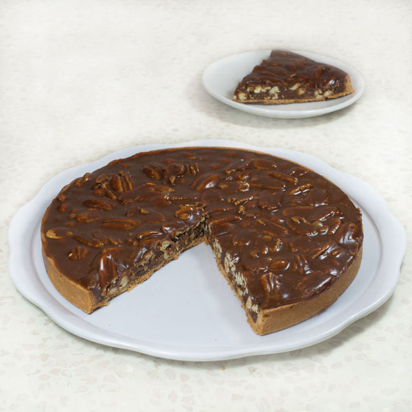 Pecan Chocolate and Caramel Tart