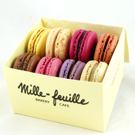 Box of 8 French Macarons