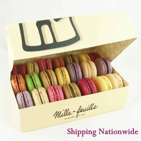 Box of 21 French Macarons!