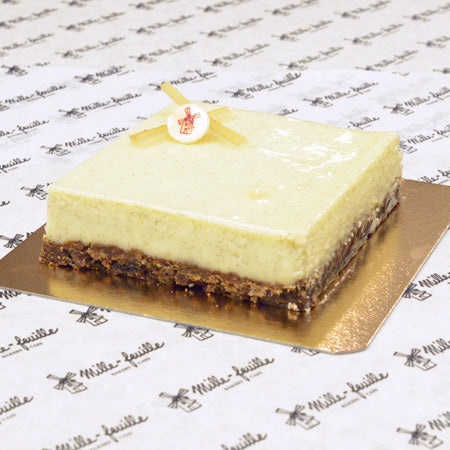 Lemon Vanilla Cheesecake For Celebrations